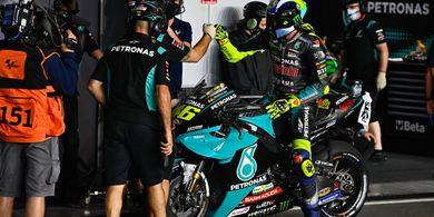 Dukungan Petronas Yamaha SRT, Valentino Rossi Bekerja Bak Binatang Buas