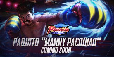Tinju Mania Wajib Koleksi! Manny Pacquiao Resmi Abadi di Mobile Legends
