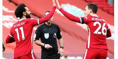 Hasil Liga Inggris - Liverpool Akhirnya Menang Lagi di Anfield
