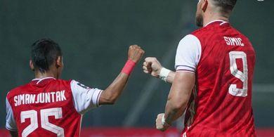 Hasil Piala Menpora 2021, Gebrakan Riko Bawa Persija ke Semifinal