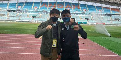 Asnawi Mangkualam Pemain Timnas Indonesia Pertama yang Dipanggil Shin Tae-yong untuk Lawan Afghanistan