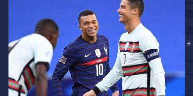 Peluang Skenario Transfer Heboh yang Libatkan Mbappe dan Ronaldo