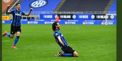 Menang Berkat Bek Buangan Man United, Inter Milan Makin Kokoh di Puncak