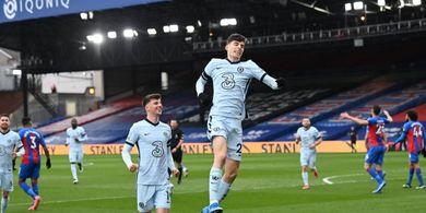 Havertz Akhiri Penantian Lama, Chelsea Bantai Crystal Palace pada Paruh Pertama