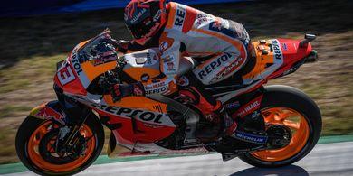 Tampil di MotoGP Portugal 2021, Kengototan Marc Marquez Bakal Hilang