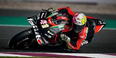 Makin Menggeliat di MotoGP 2021, Aprilia Kian Pede Teror Yamaha dan Ducati
