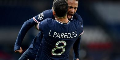 Detik-detik Perayaan Brutal Neymar di Depan Pemain Bayern Muenchen