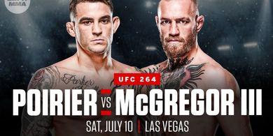 UFC 264 - Omong Doang Batal Kagak! Conor McGregor Resmi Lawan Dustin Poirier