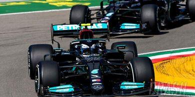 Hasil FP2 GP Emilia Romagna 2021 - Valtteri Bottas Tetap Tercepat