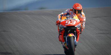 Masih Pemulihan, Marc Marquez Akui Main Aman pada MotoGP Portugal 2021