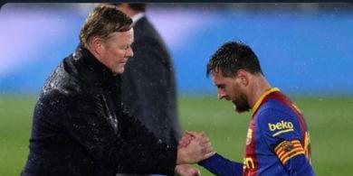 Ronald Koeman Bongkar Kejadian yang Bikin Lionel Messi Marah Seminggu