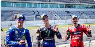 Klasemen Sementara MotoGP 2021 Pekan Ketiga - Quartararo Meraja, Zarco Merana