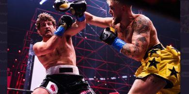 Luar Biasa, Duel Youtuber Vs Eks Petarung MMA Hasilkan Rp 1 Triliun