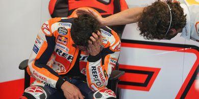 Abaikan Tes Balap di Sirkuit Jerez, Cedera Marc Marquez Kambuh?