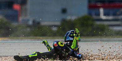'Tak Perlu Diragukan Lagi, Valentino Rossi Berada Dalam Masa Sulit'