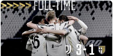 Hasil Liga Italia - Cristiano Ronaldo Mandul, Juventus Atasi Perlawanan Parma