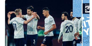 Hasil dan Klasemen Liga Inggris - Manchester City Aman di Puncak, Chelsea Cuma Main Imbang