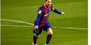Didorong Lawan Tetap Bisa Cetak Gol, Bukti Messi Bukan Manusia?