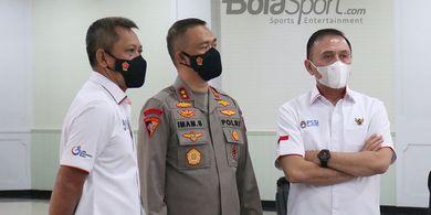 PT LIB dan Polri Saling Bantah Soal Tanggal Kickoff Liga 1 2021