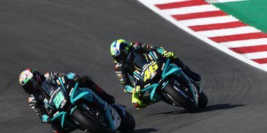 Semua Tenang! Valentino Rossi Segera Gondol 5 Besar di MotoGP 2021