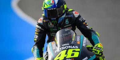 Diasapi Pembalap Gurem di MotoGP Spanyol 2021, Valentino Rossi Lamban dan Tak Akurat