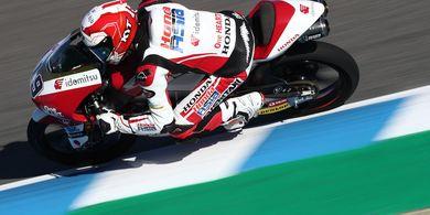 Moto3 Prancis 2021 - Pembalap Indonesia Andi Gilang Incar Poin Perdana