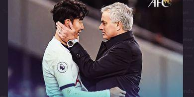 Karena Satu Hal, Kepergian Mourinho Sisakan Kesedihan untuk Son Heung-min