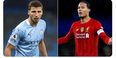 Manchester City ke Final, Ruben Dias Dianggap Lebih Baik daripada Van Dijk