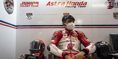 Mario Suryo Aji Siap Hadapi Tantangan di Valencia pada Moto3 Junior World Championship