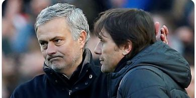 Antonio Conte Sambut Hangat Kedatangan Jose Mourinho di Liga Italia