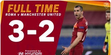 Hasil Liga Europa - Comeback AS Roma Hanya Seujung Kuku, Man United ke Final