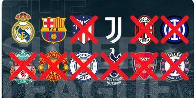 Kebal Ancaman, Tiga Klub Bersikeras Dukung ESL dan Balik Serang UEFA