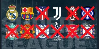 Hukuman Berat Menanti Real Madrid, Barcelona, dan Juventus