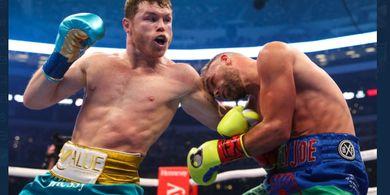 Karma, Mulut Besar Teman Tyson Fury Dihukum Raja Tinju Canelo Alvarez