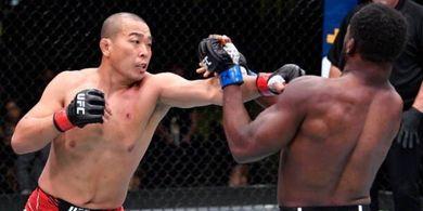 Hasil UFC Vegas 26 - Kemaluan Dihajar 2 Kali, Jagoan Korea Bikin Kompatriot Francis Ngannou Berdarah-darah