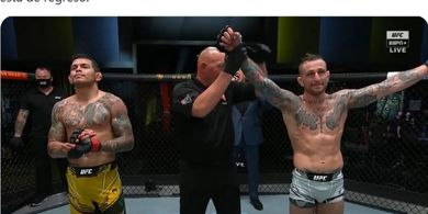 Hasil UFC Vegas 26 - Parkir selama Ramadan, Islam Makhachev Terancam Digusur Nelayan