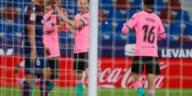 Barcelona Imbang Lawan Levante, Ronald Koeman Beri Sinyal Menyerah
