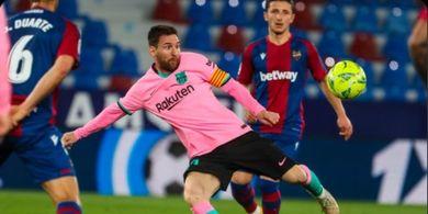 Syarat Messi Bertahan di Barcelona, Minta Dibelikan Jet dari Paris