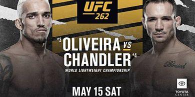 UFC 262 - Kalau Juara, Michael Chandler Nomor 2 Paling Cepat Sepanjang Sejarah