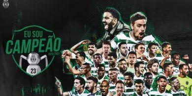 Setelah Jual Bruno Fernandes, Sporting CP Malah Jadi Juara Liga Portugal