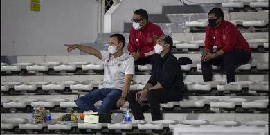 Tiba-tiba Muncul di TC Timnas Indonesia, Kaesang Pangarep Tanggapi Rumor Evan Dimas ke Persis Solo