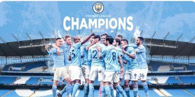 Manchester City Juara Liga Inggris, Tiga Perempat Karier Pep Guardiola Berakhir dengan Trofi