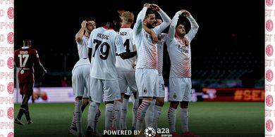 Bantai Torino Tanpa Ampun, AC Milan Ulangi Pesta Persis 25 Tahun Lalu
