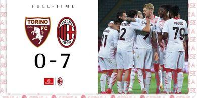 AC Milan Permalukan Dua Tim Turin secara Beruntun, Pioli: Tugas Belum Tuntas