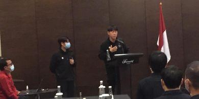 Shin Tae-yong Soroti Porsi Makan Pemain Timnas Indonesia
