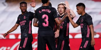 Hasil Liga Spanyol - 2 Pemain Bau Kencur Jawab Kepercayaan, Real Madrid Gilas Granada
