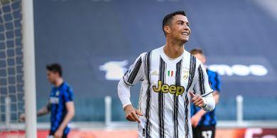 Ditarik Keluar saat Juventus Lawan Inter, Ronaldo Bahagia dan Tersenyum di Ruang Ganti