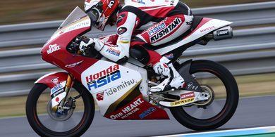 Moto3 Prancis 2021 - Pembalap Indonesia Andi Gilang, Sudah Jatuh Tertimpa Tangga
