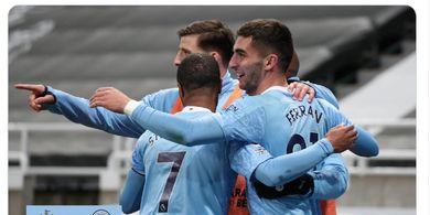 Hasil dan Klasemen Liga Inggris - Manchester City Susah Payah Kalahkan Newcastle United dalam Drama Tujuh Gol