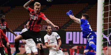 Hasil Liga Italia - Tanpa Gol Lawan Cagliari, AC Milan Gagal Pastikan Tiket Liga Champions Pekan Ini
